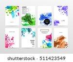 set of hand drawn universal...   Shutterstock .eps vector #511423549