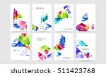 set of hand drawn universal... | Shutterstock .eps vector #511423768