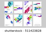 set of hand drawn universal... | Shutterstock .eps vector #511423828