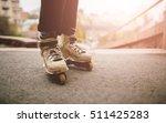 aggressive roller skates.... | Shutterstock . vector #511425283