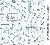 science doodle background  ... | Shutterstock .eps vector #511426894