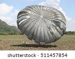 military parachuting  | Shutterstock . vector #511457854