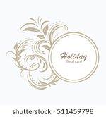 vector decorative frame....   Shutterstock .eps vector #511459798