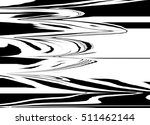 black abstract lines | Shutterstock . vector #511462144