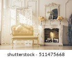 luxury interior of sitting room ... | Shutterstock . vector #511475668