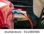 vehicle with an electric motor. ... | Shutterstock . vector #511480480