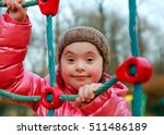 portrait of beautiful girl on... | Shutterstock . vector #511486189