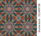 ornate floral seamless texture  ... | Shutterstock .eps vector #511489738