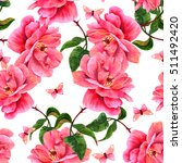 A Seamless Pattern With A...