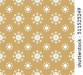 christmas snowflakes seamless... | Shutterstock .eps vector #511525249