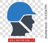 vector soldier helmet eps...   Shutterstock .eps vector #511526794