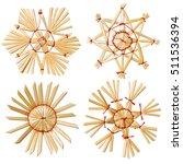 Christmas Snowflake Star Straw...