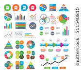 business charts. growth graph.... | Shutterstock .eps vector #511540810