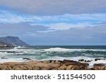 Small photo of South Africa, 17/09/2009: southafrican landscape seen from the beach of Sea Point, one of Cape Town's most affluent and densely populated suburbs