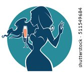 drink with me vector commercial ... | Shutterstock .eps vector #511549684