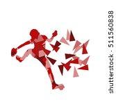 climber silhouette woman vector ...   Shutterstock .eps vector #511560838
