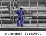 builder worker in safety... | Shutterstock . vector #511569970