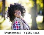 ethnic woman wearing fashion... | Shutterstock . vector #511577566