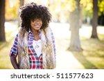 ethnic woman wearing fashion... | Shutterstock . vector #511577623