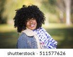 ethnic woman wearing fashion... | Shutterstock . vector #511577626