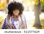ethnic woman wearing fashion... | Shutterstock . vector #511577629