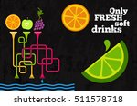 retro minimalistic banner with... | Shutterstock .eps vector #511578718