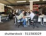 young business people at modern ... | Shutterstock . vector #511583029