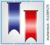 ribbon icon vector | Shutterstock .eps vector #511589170