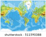 america centered physical world ... | Shutterstock .eps vector #511590388