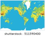 america centered detailed... | Shutterstock .eps vector #511590400