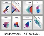 abstract design  booklet | Shutterstock .eps vector #511591663