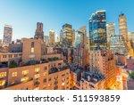 aerial view of midtown...   Shutterstock . vector #511593859