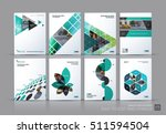 business vector set. brochure... | Shutterstock .eps vector #511594504