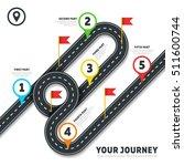 journey road map business...   Shutterstock .eps vector #511600744