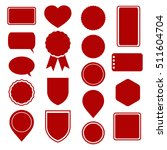 set of stickers  labels  icons... | Shutterstock .eps vector #511604704
