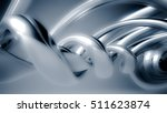 beautiful gray seamless... | Shutterstock . vector #511623874