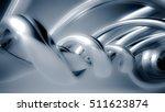 beautiful gray seamless... | Shutterstock . vector #511623874