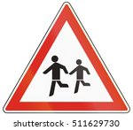 warning sign used in hungary  ... | Shutterstock . vector #511629730