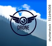 drone logo isolated in the... | Shutterstock .eps vector #511646308