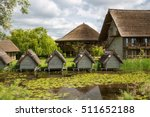 buildings in danube delta ... | Shutterstock . vector #511652188