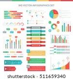 big vector infographics set...   Shutterstock .eps vector #511659340