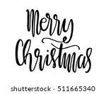 merry christmas. modern... | Shutterstock .eps vector #511665340