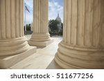 close up of the columns  of the ... | Shutterstock . vector #511677256