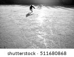 young hockey player on the... | Shutterstock . vector #511680868