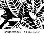 exotic plants. tropical... | Shutterstock .eps vector #511686610