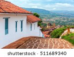 view of barichara  colombia as... | Shutterstock . vector #511689340