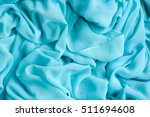 blue background abstract cloth  ... | Shutterstock . vector #511694608