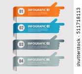 modern infographics options... | Shutterstock .eps vector #511718113