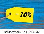Sale Minus 10 Percent. Big...
