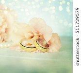 wedding rings | Shutterstock . vector #511729579